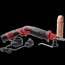 Borrmaskin med dildo som sexmaskin