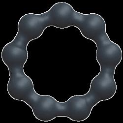 Enkel penisring med struktur i form av kulor