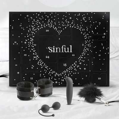 Sinfuls julkalender med sexleksaker för par
