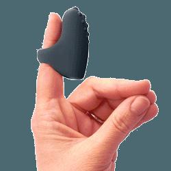 Uppladdningsbar fingervibrator
